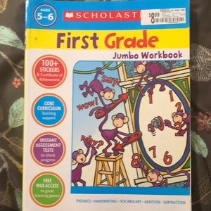 Other - First grade work book never used